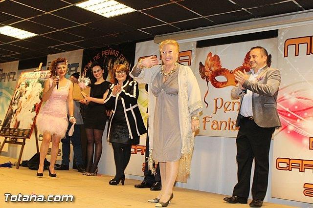 """La Gala Pregón del Carnaval 2015, que protagonizará Jerónima Guarinos Cermeño, se celebrará este domingo en el centro sociocultural """"La Cárcel"""", Foto 1"""