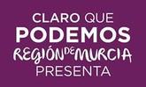 Esta tarde se presenta en Totana la la Candidatura Claro que Podemos Región de Murcia