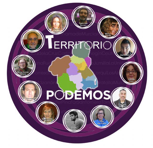 La Tercera Vía de PODEMOS para la Región se llama TERRITORIO PODEMOS, Foto 3