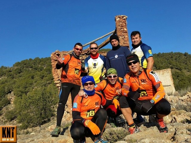 3ª ruta del grupo de amigos de la montaña Kasi Ná Trail (KNT), Foto 1