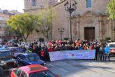 Más de doscientas personas participaron en la V ruta solidaria por las Enfermedades Raras que unió Totana y María