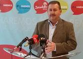 El candidato socialista Andrés García ha presentado sus cinco compromisos que aplicará nada más llegar a la alcaldía