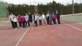 Primer encuentro Interclub de la Escuela de Tenis Kuore de Totana contra la Escuela de Lorca Club de Tenis