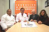 La Fundaci�n de Trabajadores de ElPozo Alimentaci�n dona 6.000 € a Proyecto Hombre