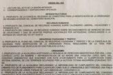 El Pleno debate hoy la modificación de la ordenanza de régimen interior del Cementerio Municipal Nuestra Señora del Carmen