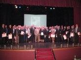 Los Premios a la Calidad en la Edificación se entregaron esta tarde en un acto celebrado en El Algar