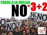 JSTotana anuncia su movilización contra el nuevo ataque del PP a la Educación y Universidad Públicas