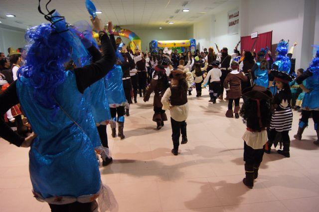 El Paretón Cantareros estrena su Sala Polivalente con la fiesta de Carnaval del Colegio Guadalentín, Foto 4