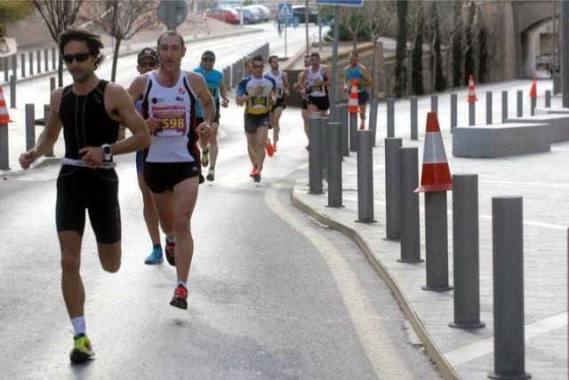 Gran actuación de los atletas del Club Atletismo Totana en la XXII Media Maratón de Cartagena, Foto 3