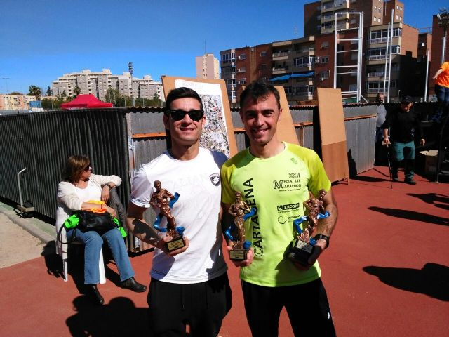 Gran actuación de los atletas del Club Atletismo Totana en la XXII Media Maratón de Cartagena, Foto 6