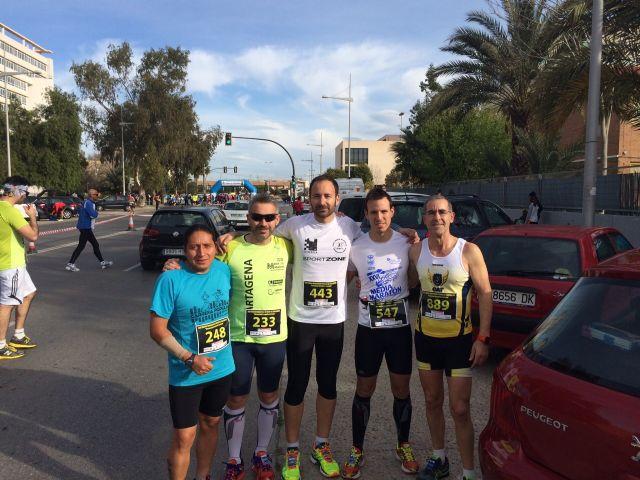 Gran actuación de los atletas del Club Atletismo Totana en la XXII Media Maratón de Cartagena, Foto 7