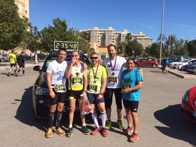 Gran actuación de los atletas del Club Atletismo Totana en la XXII Media Maratón de Cartagena, Foto 8