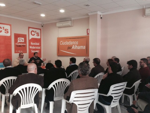 Alhama acogió la reunión de Coordinadores de las 23 agrupaciones locales de Ciudadanos, Foto 1