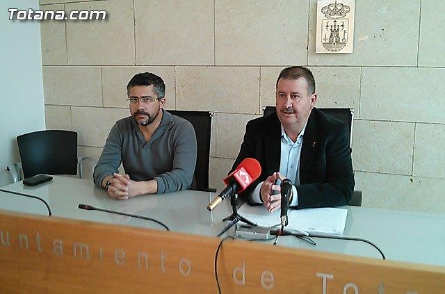 Rueda de prensa PSOE Totana. Valoración Pleno febrero 2015, Foto 1