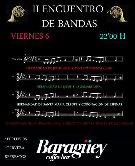 Baragüey Coffebar organiza el próximo viernes el II Encuentro de Bandas, Foto 1