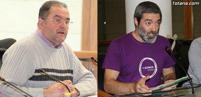 IU Totana ofrece un acuerdo a Podemos, abierto a la ciudadanía, para sumar fuerzas y batir al PP el 24 de mayo en las urnas, Foto 1