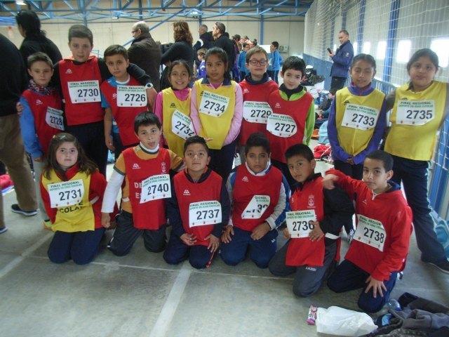 Los colegios Tierno Galván y Luís Pérez Rueda participaron en la final regional de jugando al atletismo de Deporte Escolar, Foto 1