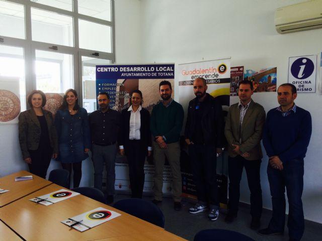Los Jóvenes Empresarios del Guadalentín se reúnen en el Centro de Desarrollo Local para acordar nuevas medidas para el desarrollo empresarial, Foto 3