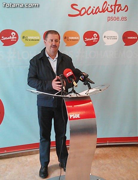 Rueda de prensa PSOE Totana. Medidas económicos y actualidad política municipal, Foto 2