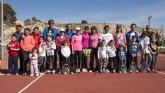 """La Escuela de Tenis Kuore organiza las segundas jornadas de """"Family tennis"""" en las pistas de la Ciudad Deportiva"""