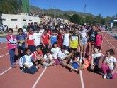 24 escolares de Totana participaron en la final regional de campo a traves benjamín y alevín de Deporte Escolar