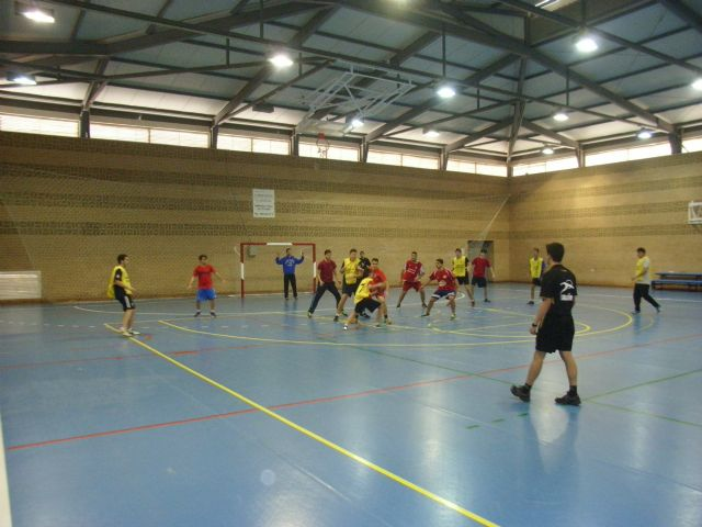 Juvenile male team handball IES Juan de la Cierva participated in the quarter-final regional School Sports, Foto 2
