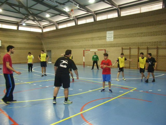 Juvenile male team handball IES Juan de la Cierva participated in the quarter-final regional School Sports, Foto 3