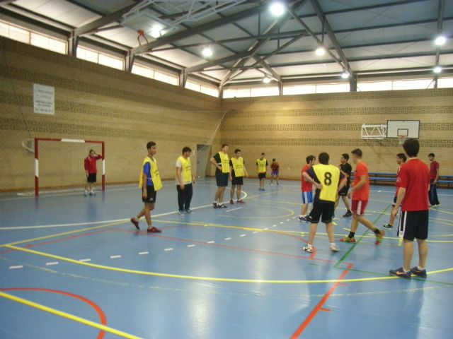 Juvenile male team handball IES Juan de la Cierva participated in the quarter-final regional School Sports, Foto 4
