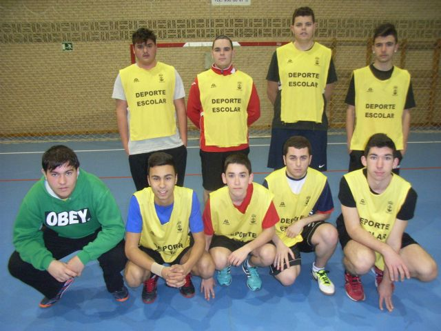 Juvenile male team handball IES Juan de la Cierva participated in the quarter-final regional School Sports, Foto 5
