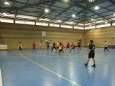 El equipo de balonmano juvenil masculino del IES Juan de la Cierva participó en los cuartos de final regionales de Deporte Escolar