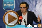 Rueda de prensa PP Totana. Balance legislatura 2011-2015