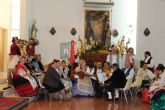 Una misa huertana rinde honores al patrón de Puerto de Mazarrón