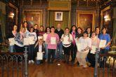 17 alumnas obtienen el diploma del curso atención a dependientes