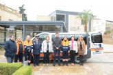 El Ayuntamiento dota con una nueva furgoneta a Protecci�n Civil