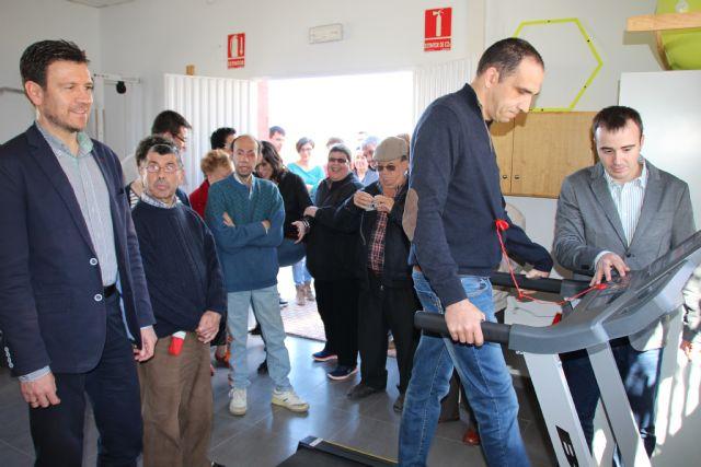 El Centro de Día las Salinas cuenta con un nuevo espacio donde se incluye sala de fisioterapia, gimnasio y sala de informática, Foto 1