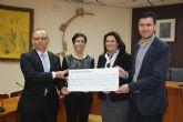 La Caixa colabora con la Concejal�a de Bienestar Social del Ayuntamiento de Alhama de Murcia