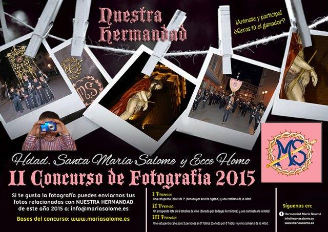 La Hermandad de Santa María Salomé y Ecce Homo organiza el II Concurso de Fotografía, Foto 1