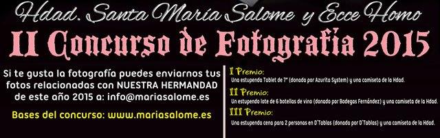La Hermandad de Santa María Salomé y Ecce Homo organiza el II Concurso de Fotografía, Foto 2