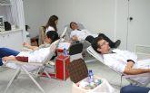 Los trabajadores de ElPozo donan sangre