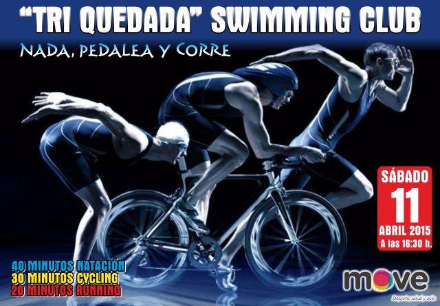 MOVE organiza la Triquedada natación Swimming club, el próximo sábado 11 de abril, Foto 1