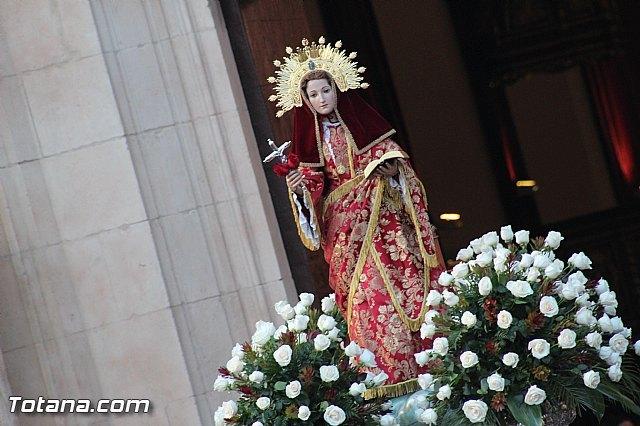 Habrá servicio especial de autobús con motivo del traslado extraordinario de la imagen de Santa Eulalia a su santuario, Foto 1