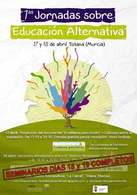 La Asociación Diversi-on Ocio y diversidad organiza las I Jornadas sobre educación alternativa en Totana, Foto 1