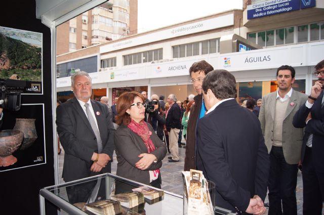 Totana presenta el Yacimiento Argárico de La Bastida en la I Muestra de Turismo Costa Cálida-Región de Murcia, Foto 4
