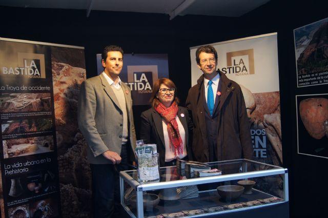 Totana presenta el Yacimiento Argárico de La Bastida en la I Muestra de Turismo Costa Cálida-Región de Murcia, Foto 7