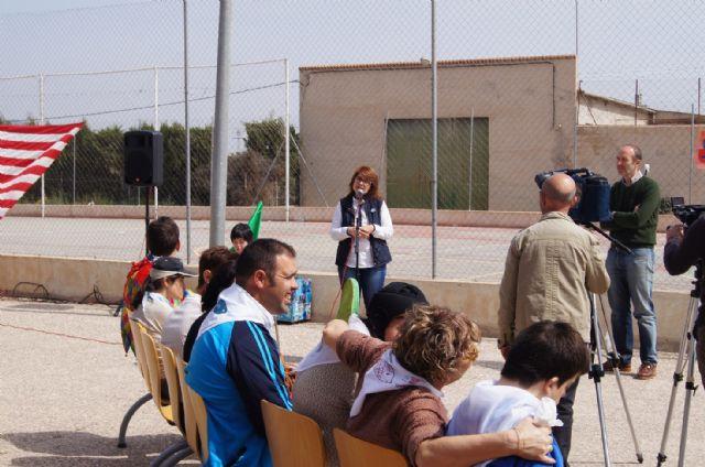 Usuarios de los Centros de Día con Enfermedad Mental y Ocupacional José Moyá Trilla disfrutan de su particular Entierro de la Sardina, Foto 9