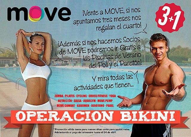 MOVE lanza la promoción 3+1 con motivo de la operación bikini, Foto 1