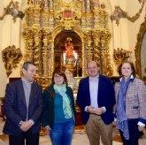 El Retablo Mayor del santuario de Santa Eulalia de Totana recobra su esplendor