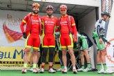 El CC Santa Eulalia disputó este pasado fin de semana la vuelta a Murcia, Criterium Ciudad de Murcia y carrera btt de Pozo Cañada en Albacete