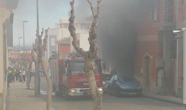 Fire Consortium intervene to quell declared in a house fire in Totana - 3