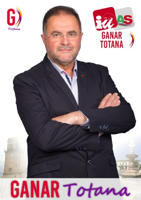 """Juan José Cánovas, the candidate to Win Totana-Izquierda Unida, the Mayor demand """"that give the actual data and the debt of the City"""" - 1"""